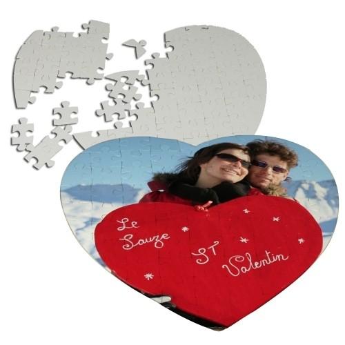 Puzzle Καρδιά σε Γυαλιστερό Χαρτί 19x19cm (75 κομμάτια)